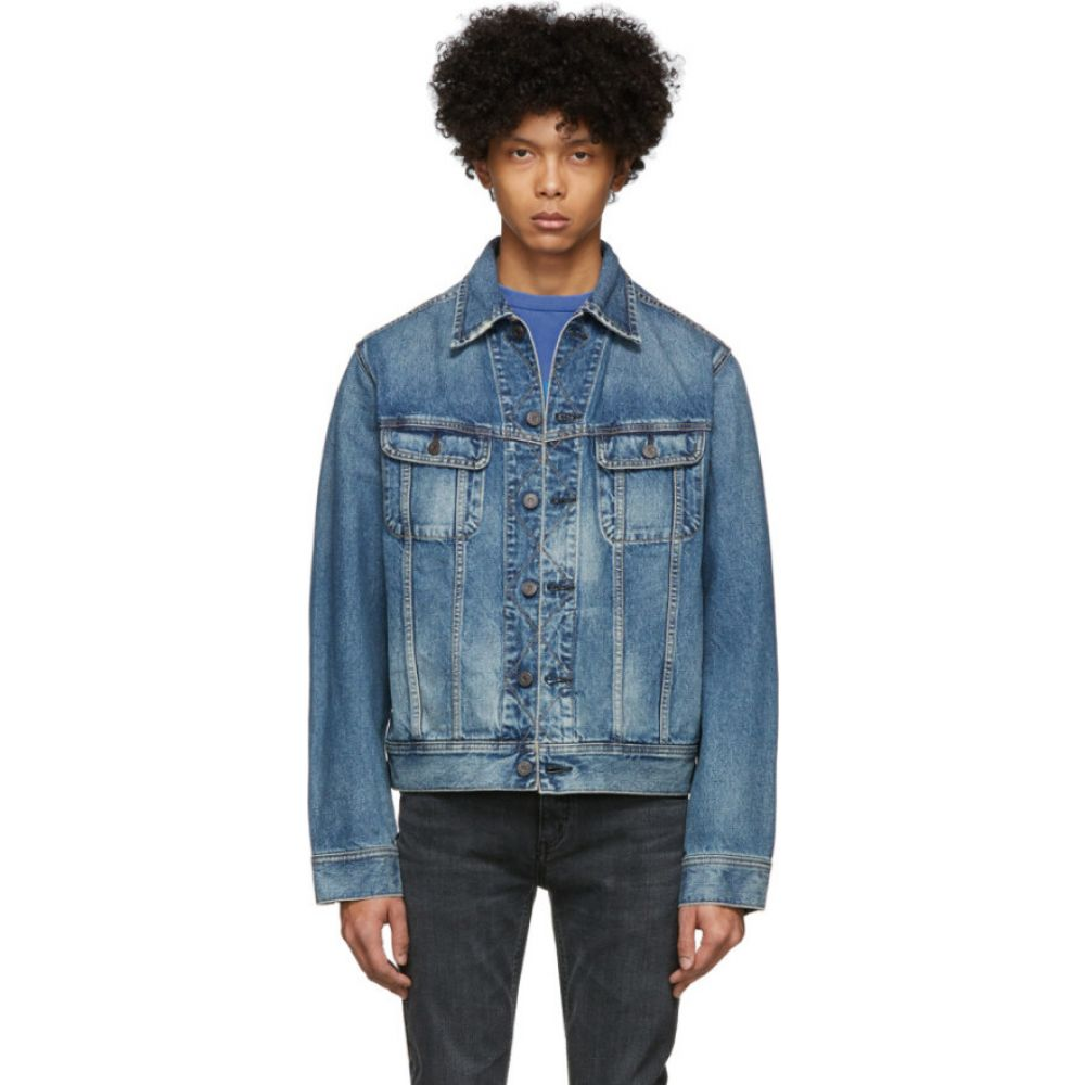マウジー Moussy Vintage メンズ ジャケット Gジャン アウター【Blue Denim Oversize Jacket】Light blue
