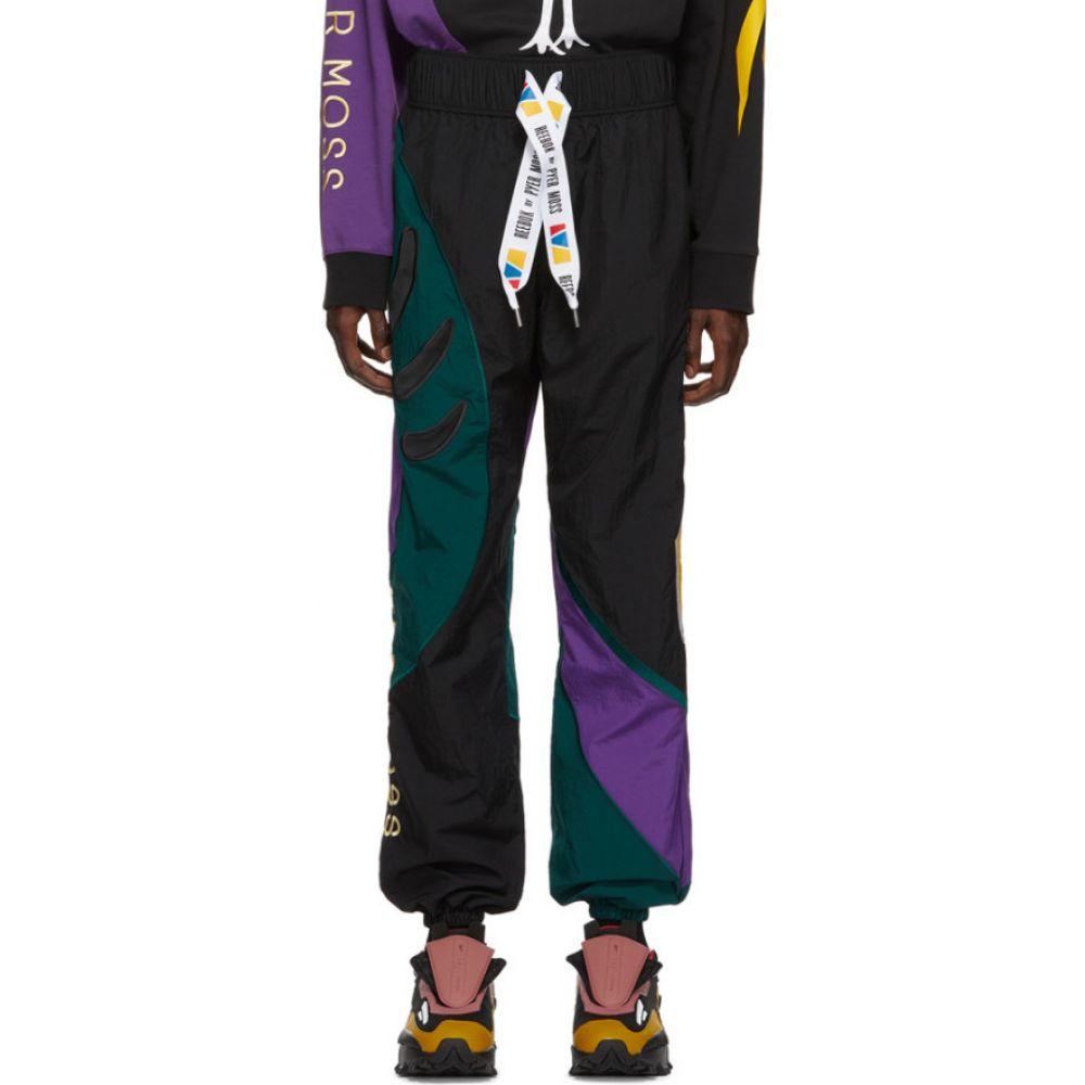 リーボック Reebok by Pyer Moss メンズ スウェット・ジャージ ボトムス・パンツ【Black Collection 3 Sankofa Track Pants】Black