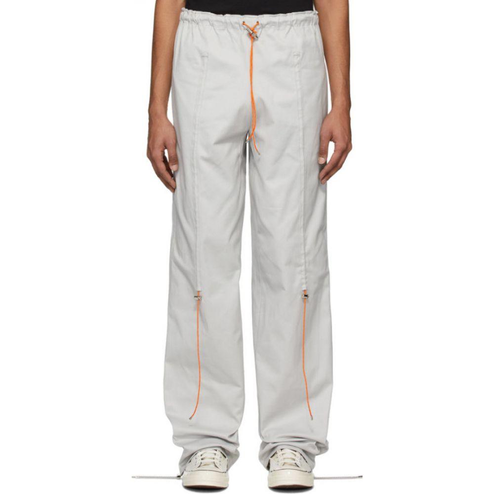 アフターホームワーク Afterhomework メンズ スウェット・ジャージ ボトムス・パンツ【Grey Elasticized Jogging Pants】Grey