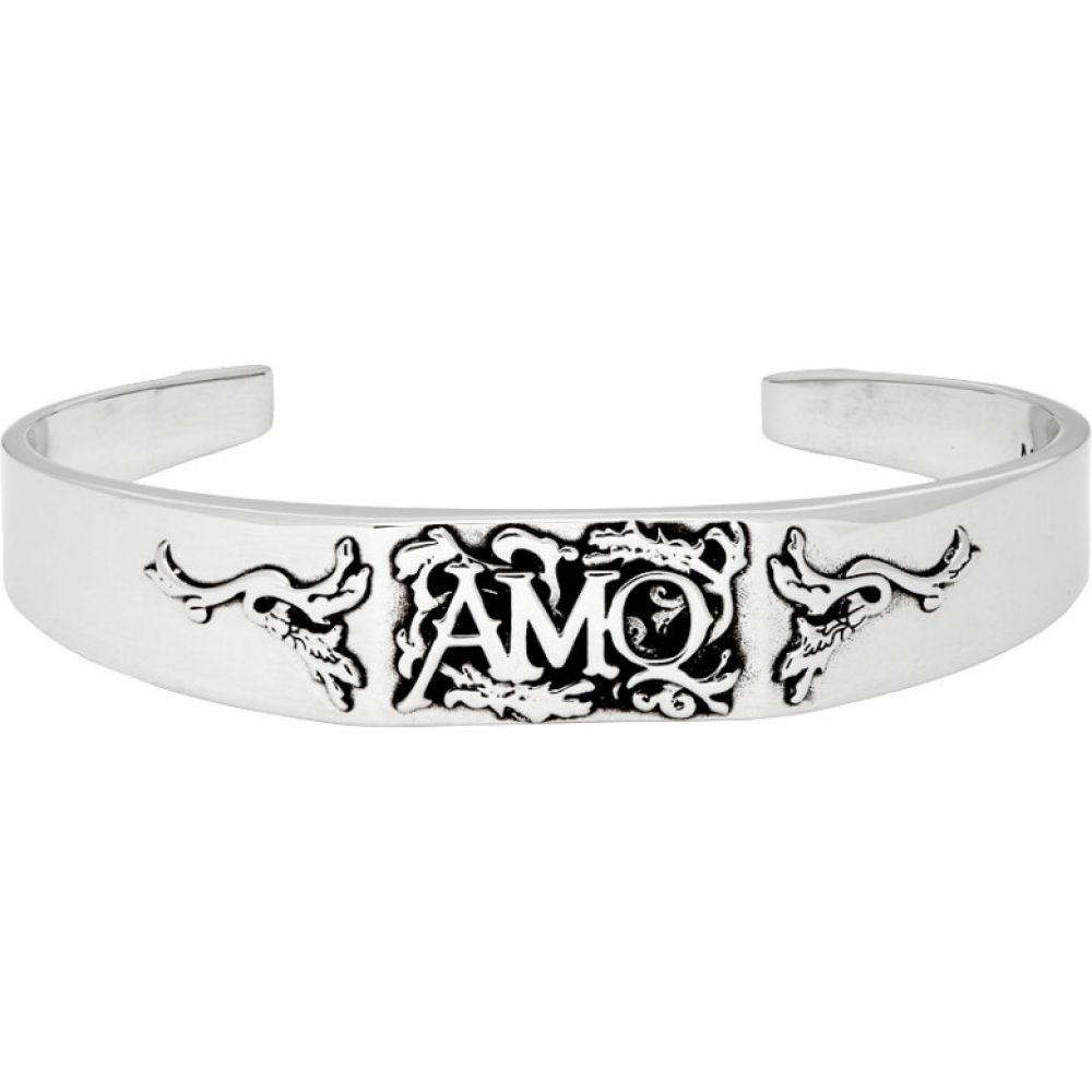 アレキサンダー マックイーン Alexander McQueen メンズ ブレスレット ジュエリー・アクセサリー【Silver Cuff Bracelet】Silver