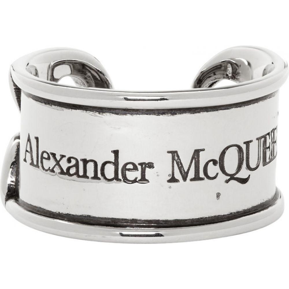 アレキサンダー マックイーン Alexander McQueen メンズ 指輪・リング ジュエリー・アクセサリー【Silver Safety Pin Ring】Silver