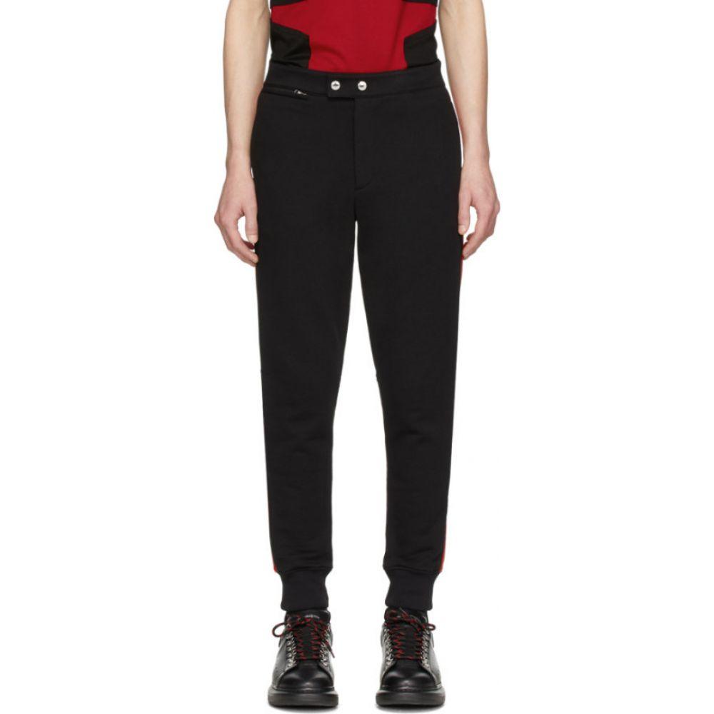 アレキサンダー マックイーン Alexander McQueen メンズ ジョガーパンツ ボトムス・パンツ【Black & Red Jogger Lounge Pants】Black/Red