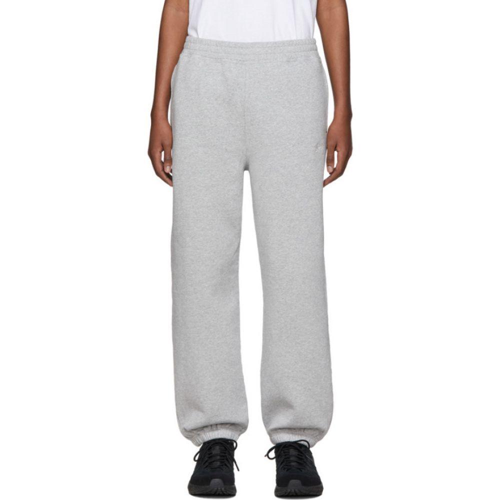 ステューシー Stussy メンズ スウェット・ジャージ ボトムス・パンツ【Grey Stock Logo Lounge Pants】Grey