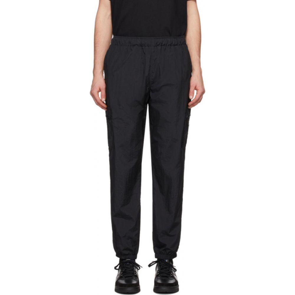 ラスベート Rassvet メンズ スウェット・ジャージ ボトムス・パンツ【Black Nylon Track Pants】Black