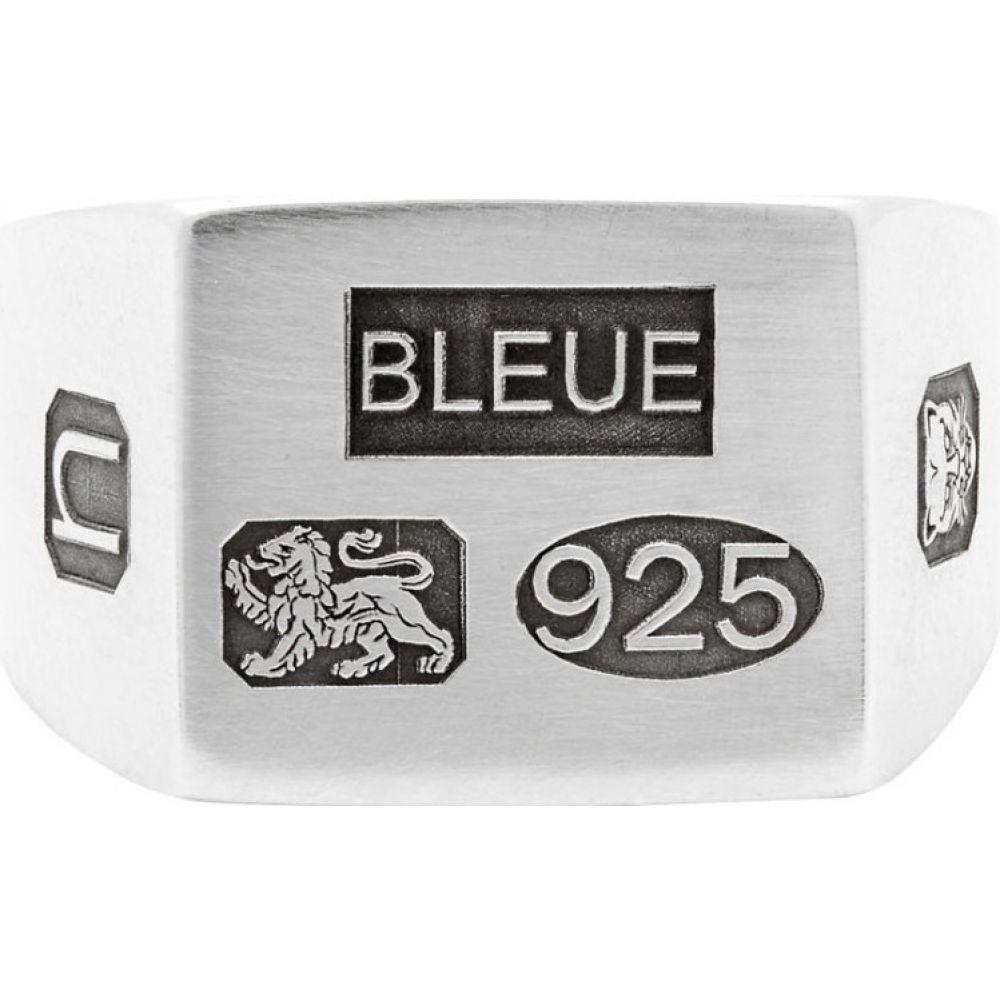 ブルー バーナム Bleue Burnham メンズ 指輪・リング ジュエリー・アクセサリー【Silver 'The Grandfather' Signet Ring】Silver