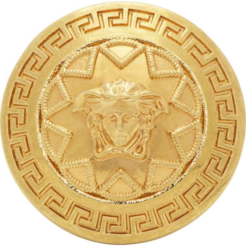 ヴェルサーチ Versace メンズ 指輪・リング メデューサ ジュエリー・アクセサリー【Gold Medusa Star Ring】Gold