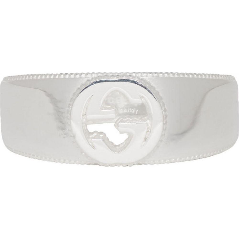 グッチ Gucci メンズ 指輪・リング ジュエリー・アクセサリー【Silver Interlocking G Ring】Silver