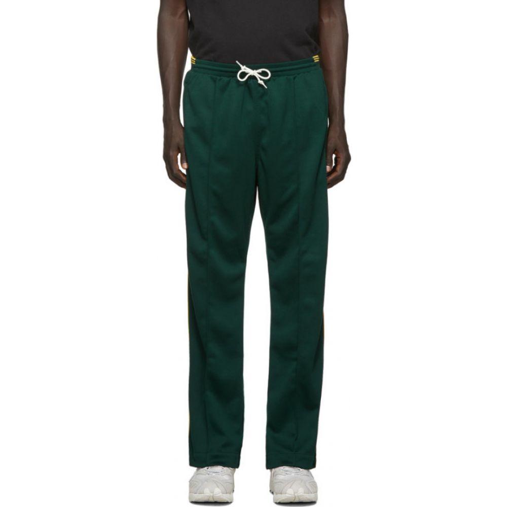 アディダス adidas Originals メンズ スウェット・ジャージ ボトムス・パンツ【Green Tricot Track Pants】Green night