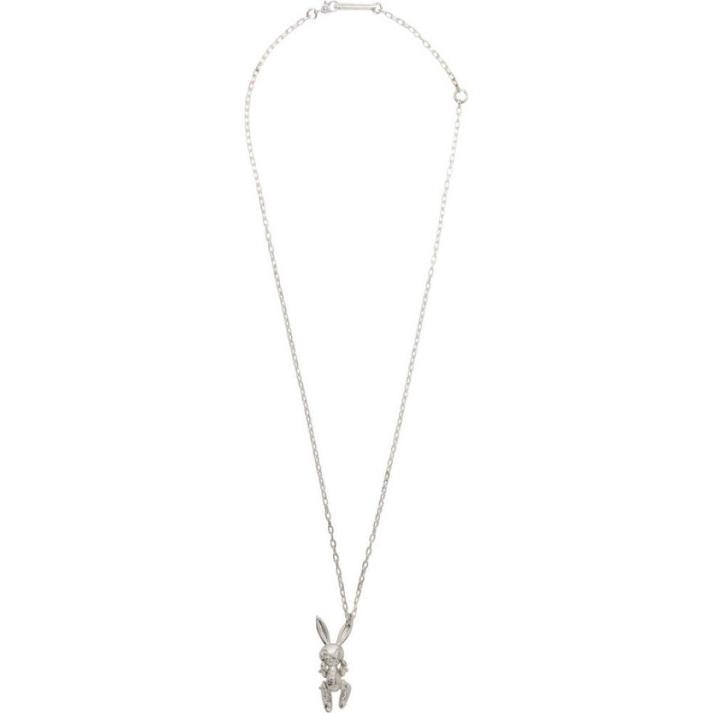 アンブッシュ Ambush メンズ ネックレス ジュエリー・アクセサリー【SENSE Exclusive Silver Inflated Bunny Necklace】Silver