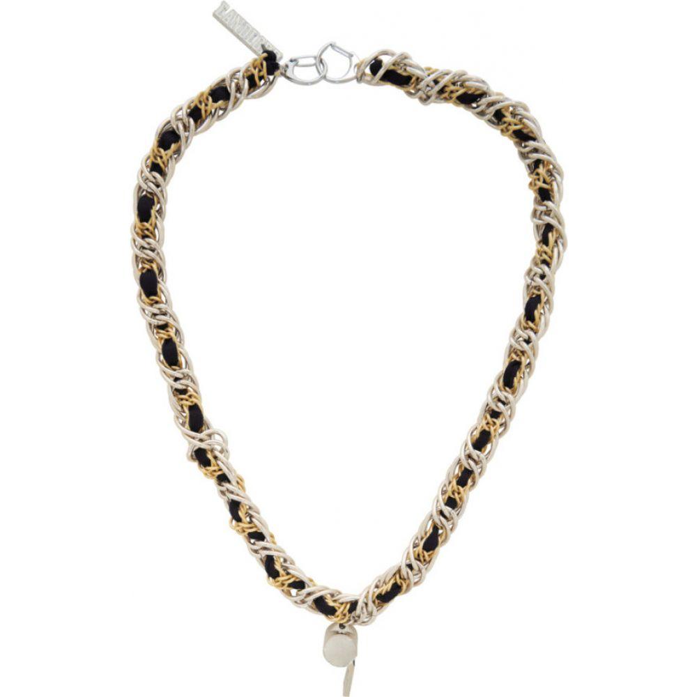 ランドロード Landlord メンズ ネックレス ジュエリー・アクセサリー【Silver & Gold Coach Lace Necklace】Multi