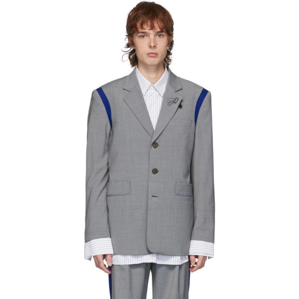 アーダーエラー ADER error メンズ スーツ・ジャケット アウター【Grey T-914 Spaceship Jacket】Light grey
