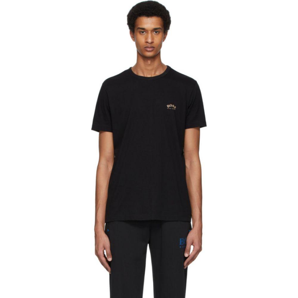 ヒューゴ ボス Boss メンズ Tシャツ トップス【Black Logo T-Shirt】Black