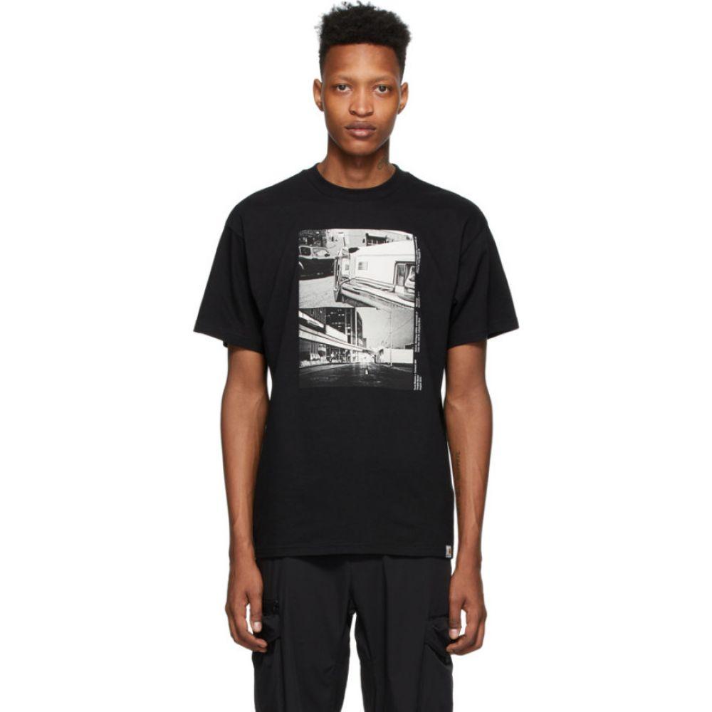 カーハート Carhartt Work In Progress メンズ Tシャツ トップス【Black Suraj Bhamra Reverse T-Shirt】Black