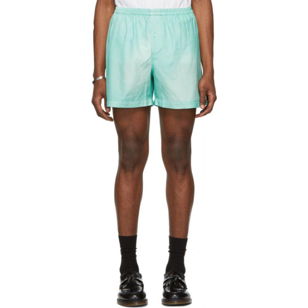 グッドファイト Goodfight メンズ ショートパンツ ボトムス・パンツ【Green Silk Basic Shorts】