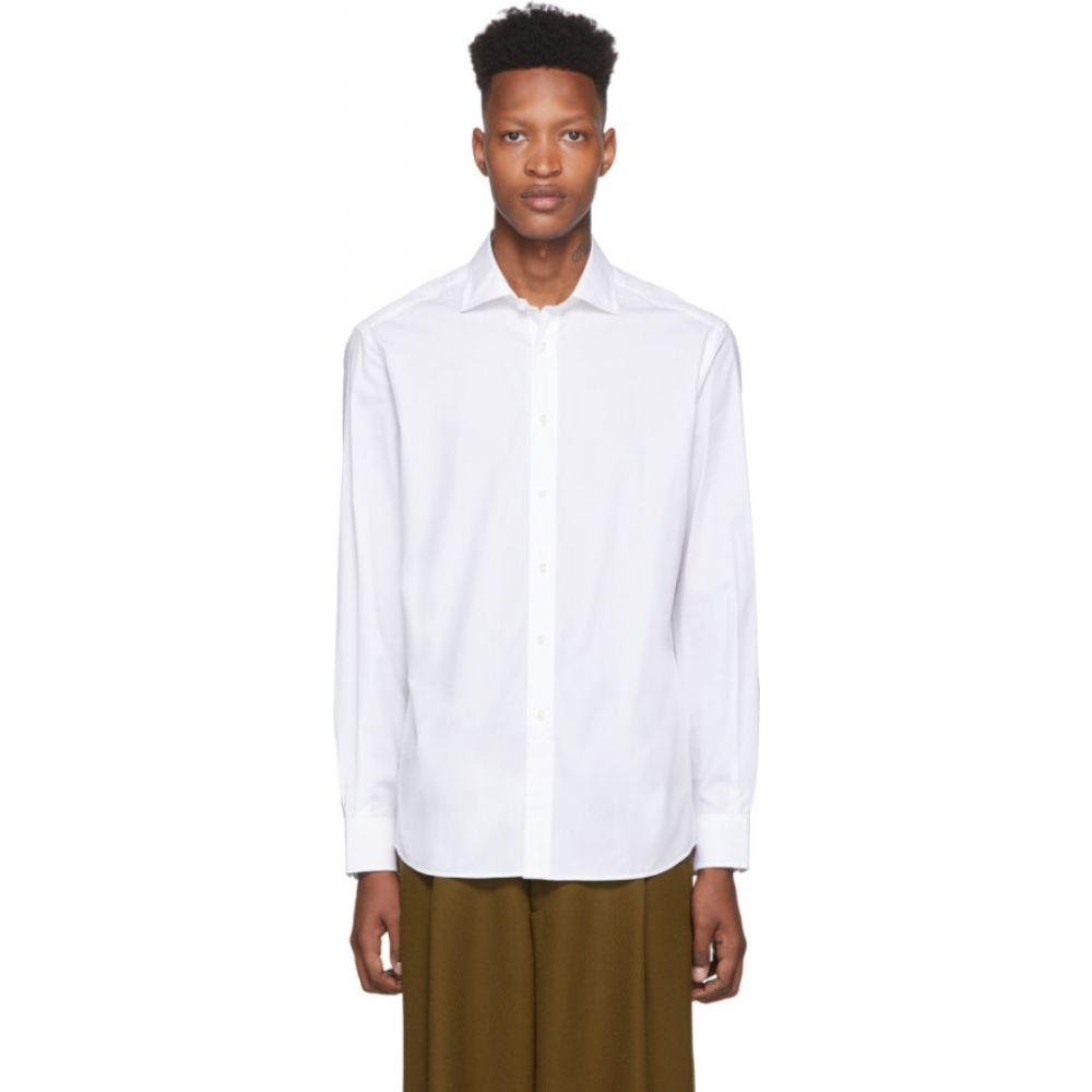 ラルフ ローレン Ralph Lauren Purple Label メンズ シャツ トップス【White Bond Dress Shirt】White