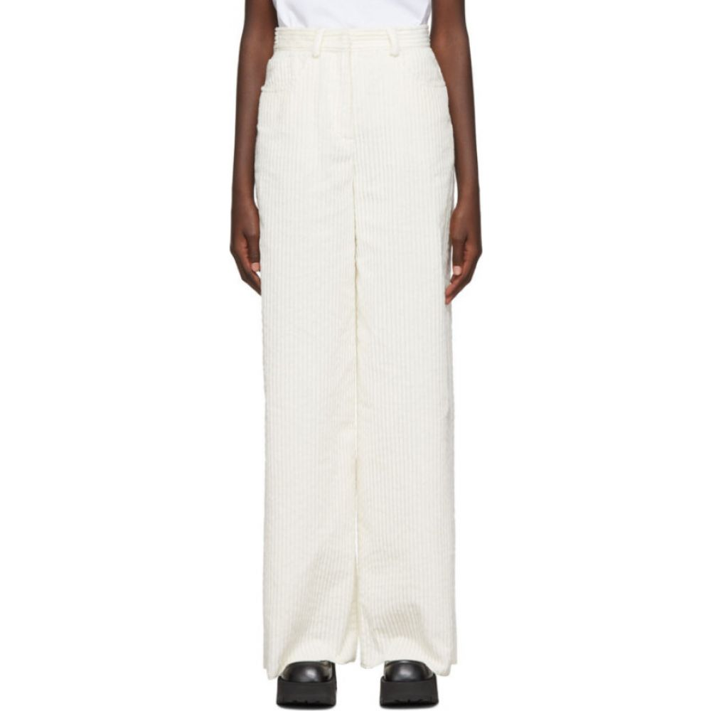 ミッソーニ M Missoni レディース ボトムス・パンツ 【White Corduroy Trousers】white