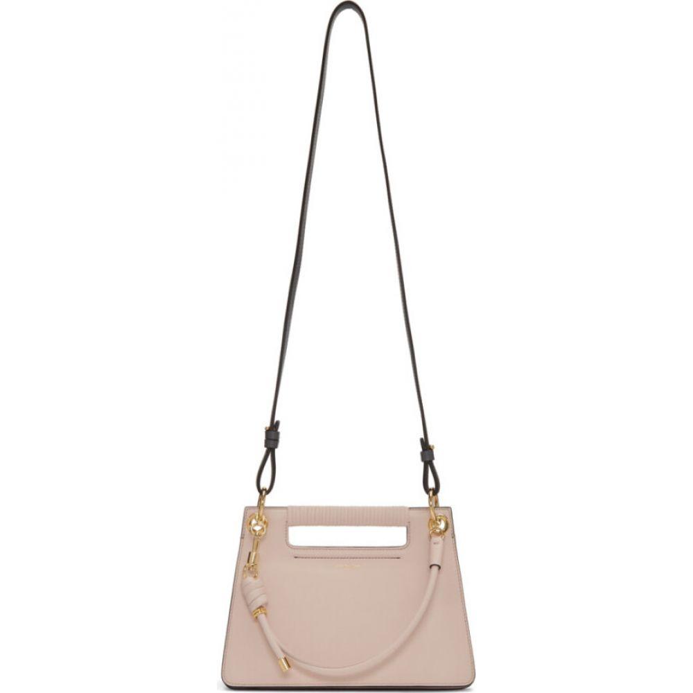 ジバンシー Givenchy レディース ショルダーバッグ バッグ【Pink Small Whip Bag】Pale pink