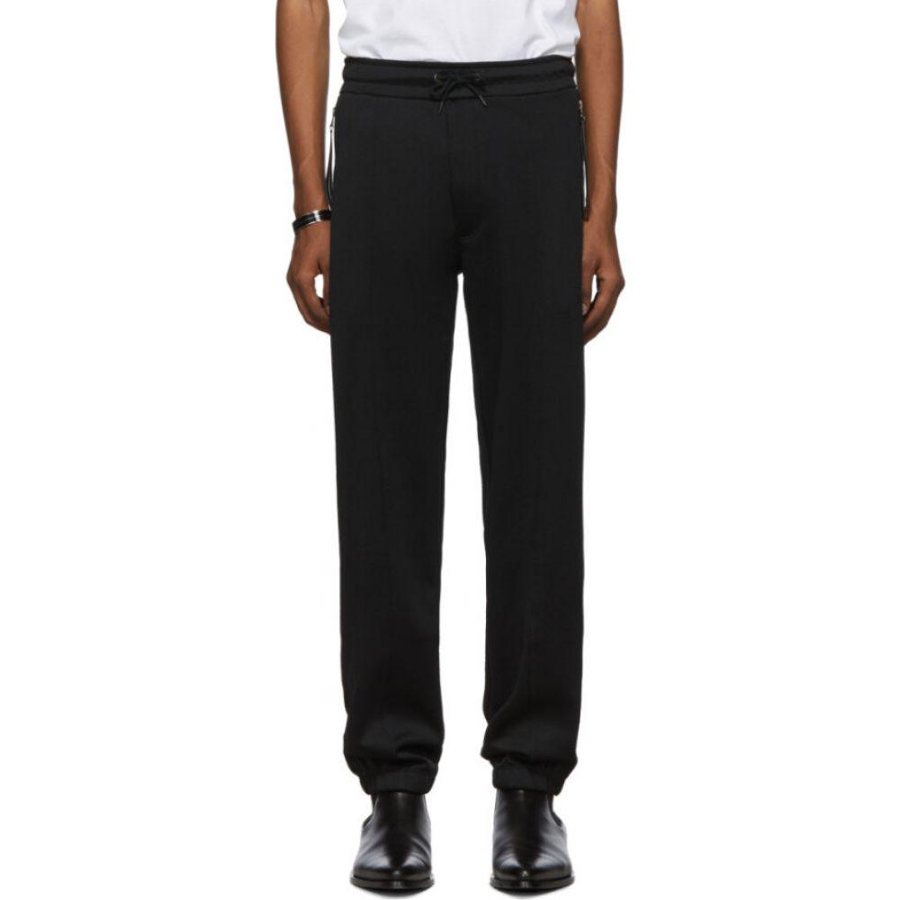 ジバンシー Givenchy メンズ スウェット・ジャージ ボトムス・パンツ【Black Pique Lounge Pants】Black