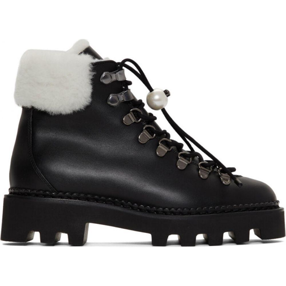 ニコラス カークウッド Nicholas Kirkwood レディース ハイキング・登山 ブーツ シューズ・靴【Black Delfi Hiking Boots】Black