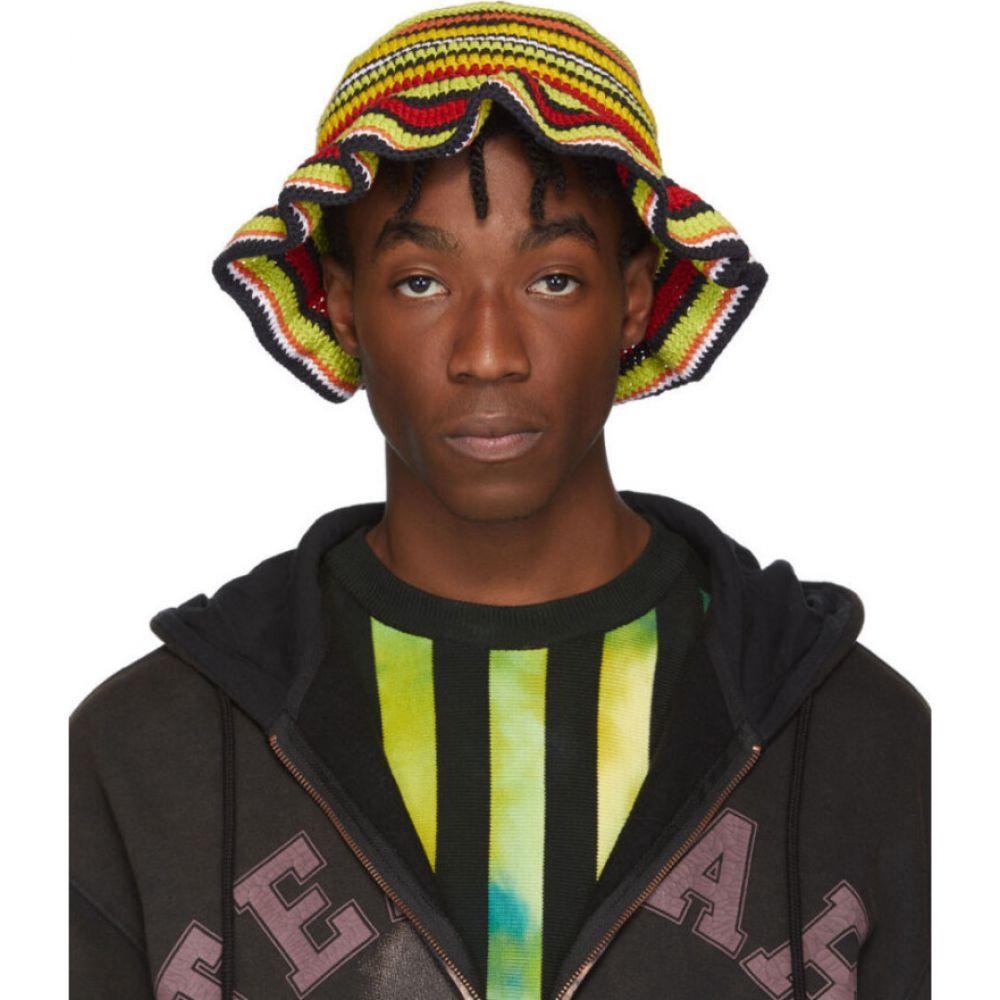 アジル AGR メンズ ハット バケットハット 帽子【SSENSE Exclusive Multicolor Crochet Bucket Hat】Multi