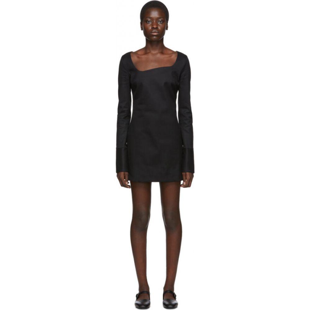 コぺルニ Coperni レディース ワンピース ワンピース・ドレス【Black Tailored Open Neck Dress】Black
