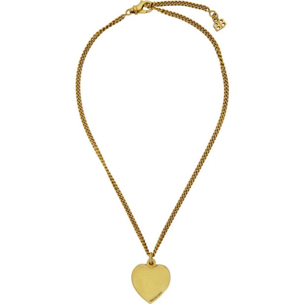 バレンシアガ Balenciaga メンズ ネックレス ジュエリー・アクセサリー【Gold Precious Necklace】Gold