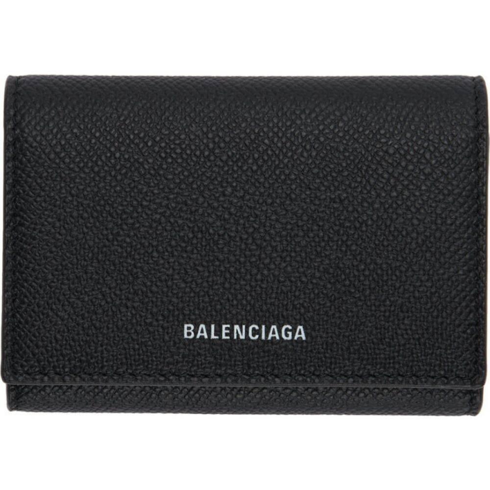 バレンシアガ Balenciaga メンズ カードケース・名刺入れ カードホルダー【Black Ville Accordion Card Holder】Black/White
