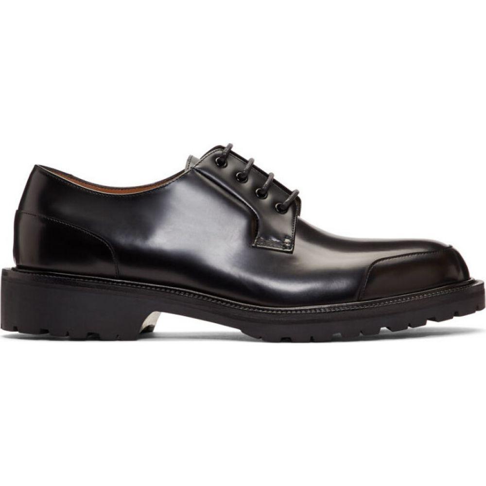 ドリス ヴァン ノッテン Dries Van Noten メンズ 革靴・ビジネスシューズ シューズ・靴【Black Rubber Sole Derbys】Black