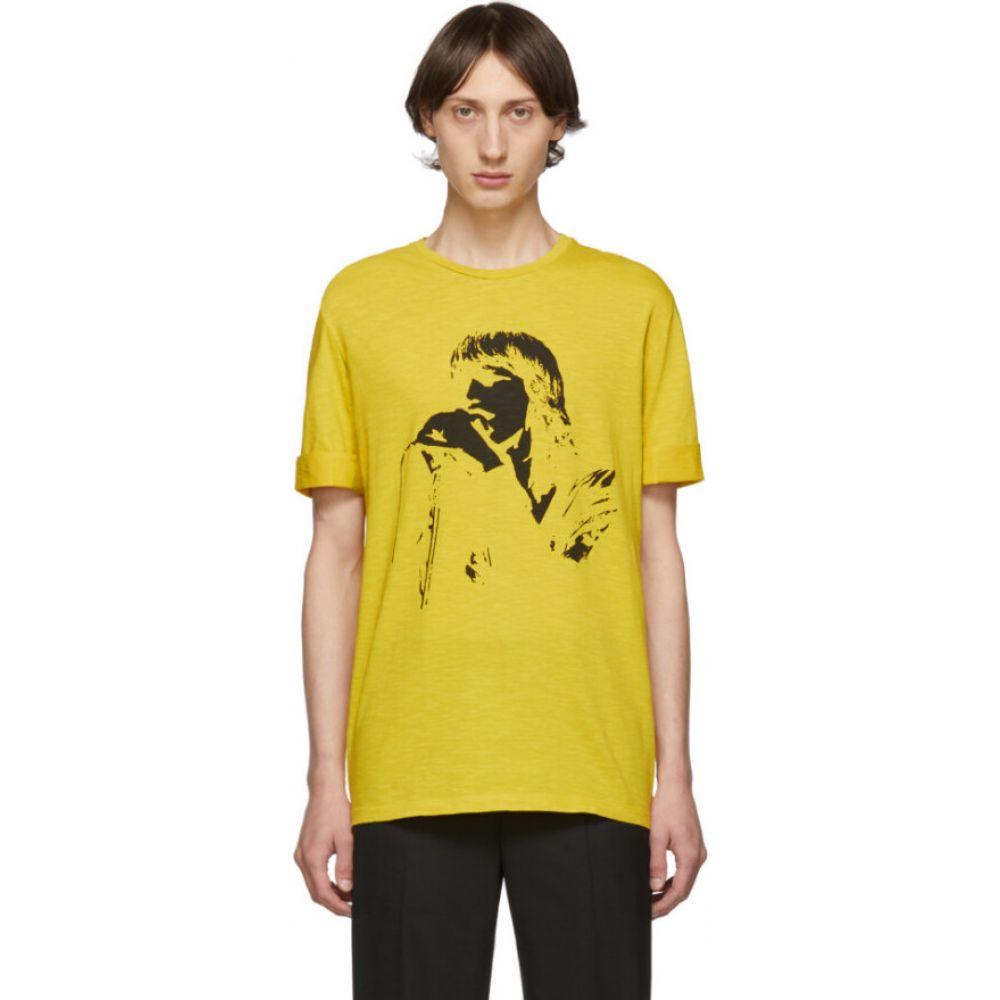 ニール バレット Neil Barrett メンズ Tシャツ トップス【Yellow Rocker T-Shirt】Yellow