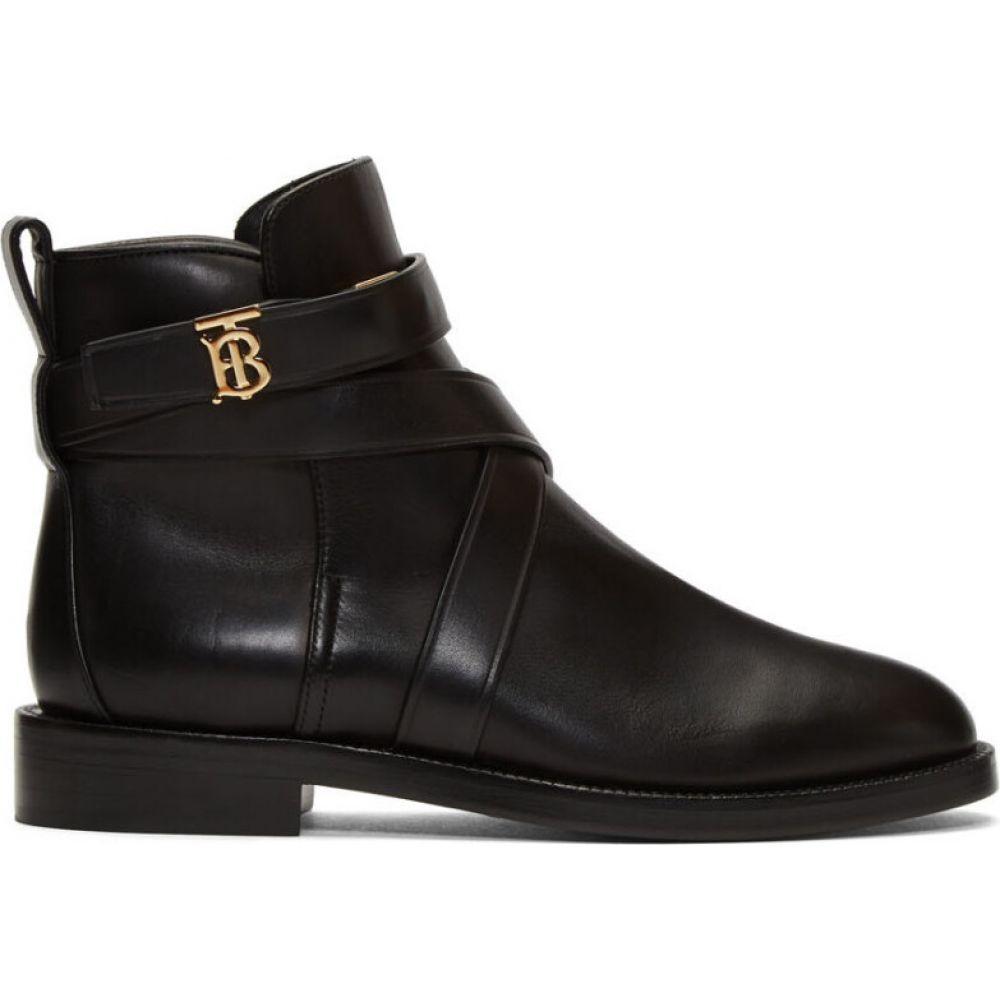 バーバリー Burberry レディース ブーツ シューズ・靴【Black Pryle TB Boots】Black