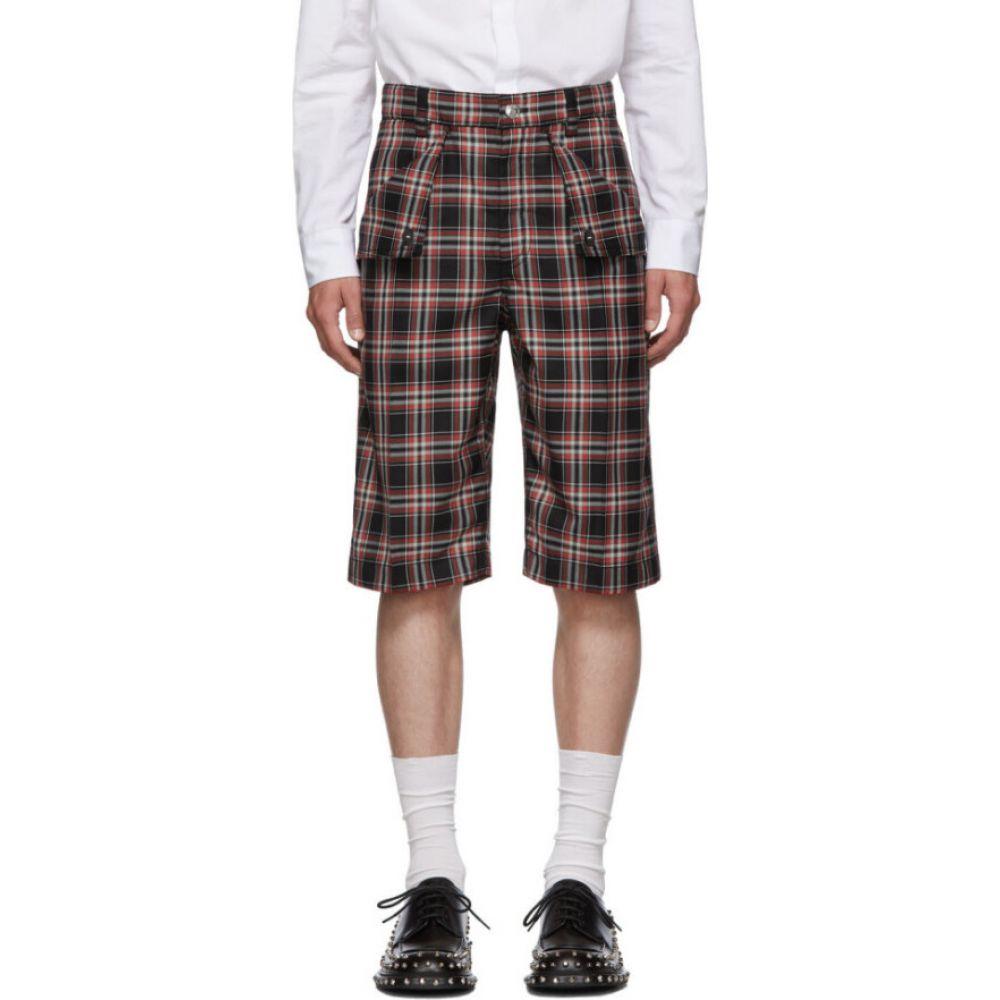 バーバリー Burberry メンズ ショートパンツ バミューダ ボトムス・パンツ【Navy Bermuda Flaps Shorts】Plaid
