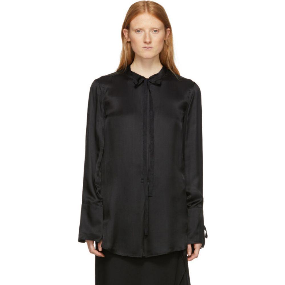 アンドゥムルメステール Ann Demeulemeester レディース ブラウス・シャツ トップス【Black Nanette Shirt】Black