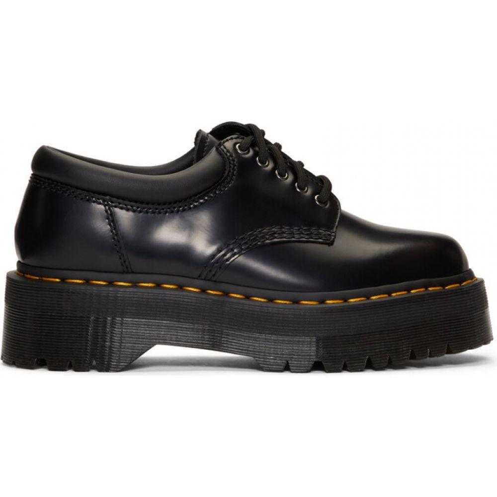 ドクターマーチン Dr. Martens メンズ 革靴・ビジネスシューズ シューズ・靴【Black 8053 Quad Retro Derbys】Black