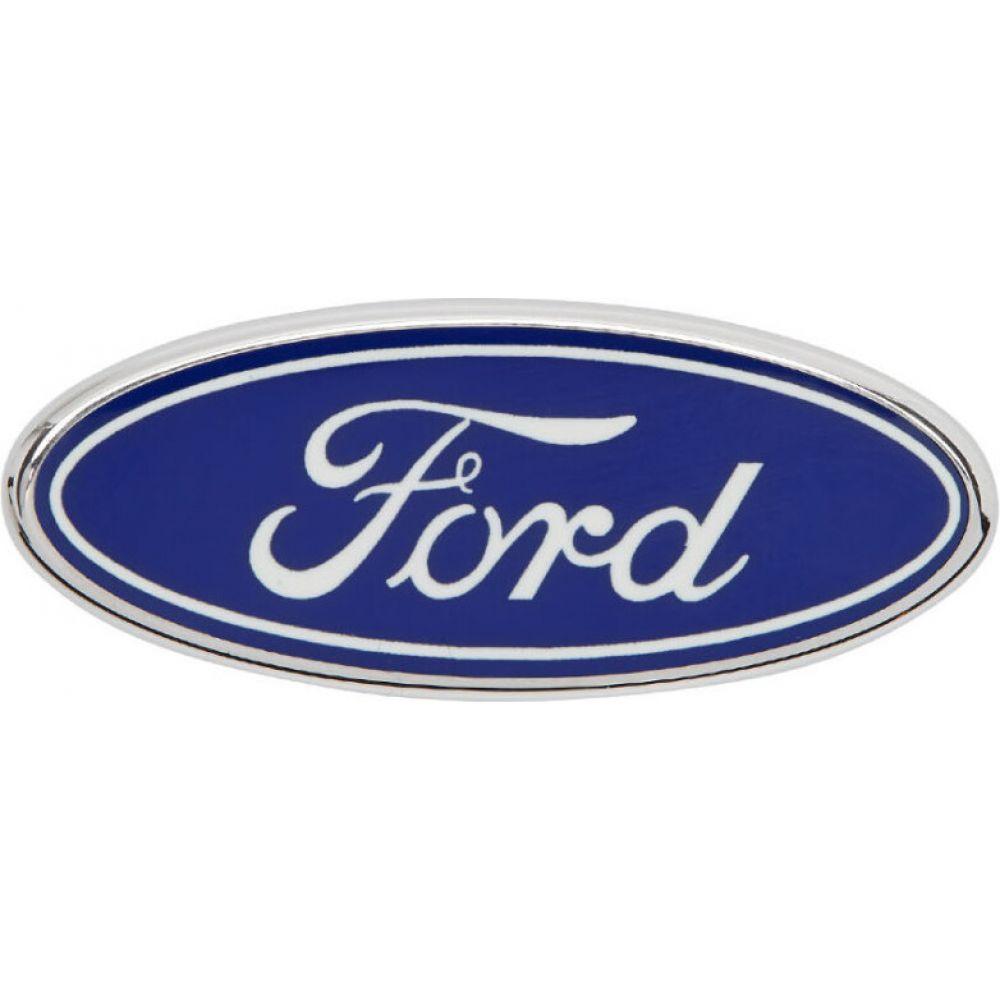 ヴェルサーチ Versace メンズ ラペルピン 【Silver & Blue Ford Edition Logo Brooch】Silver