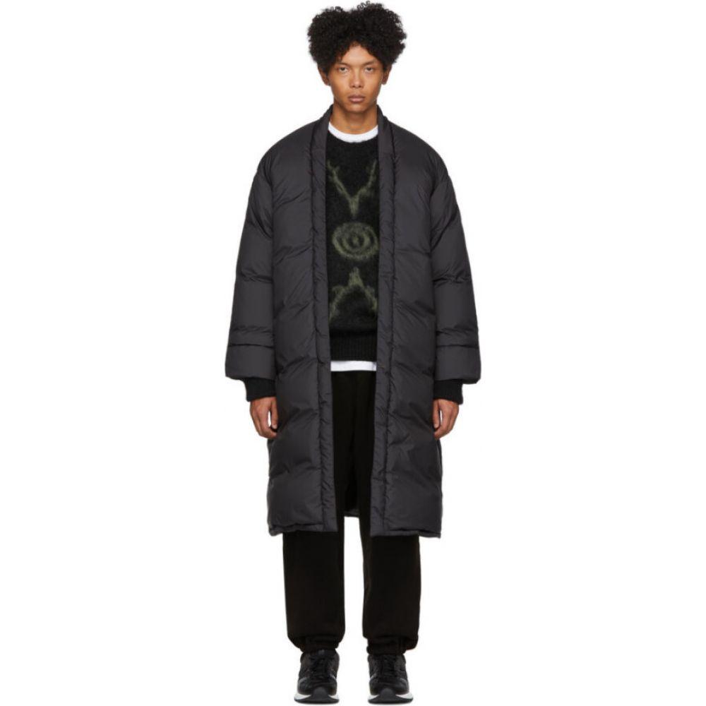 サスクワッチファブリックス Sasquatchfabrix. メンズ ダウン・中綿ジャケット アウター【Black Down Haori Coat】Black