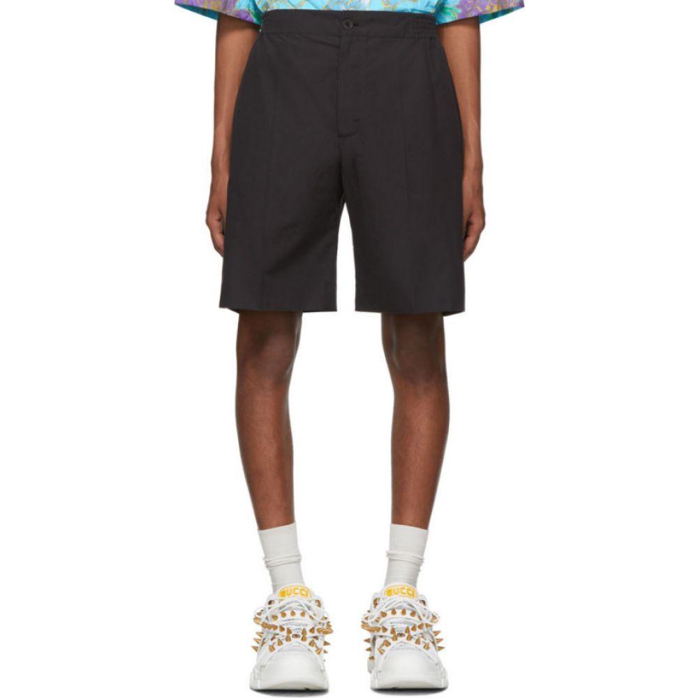 グッチ Gucci メンズ ショートパンツ ボトムス・パンツ【Black Poplin Shorts】Black
