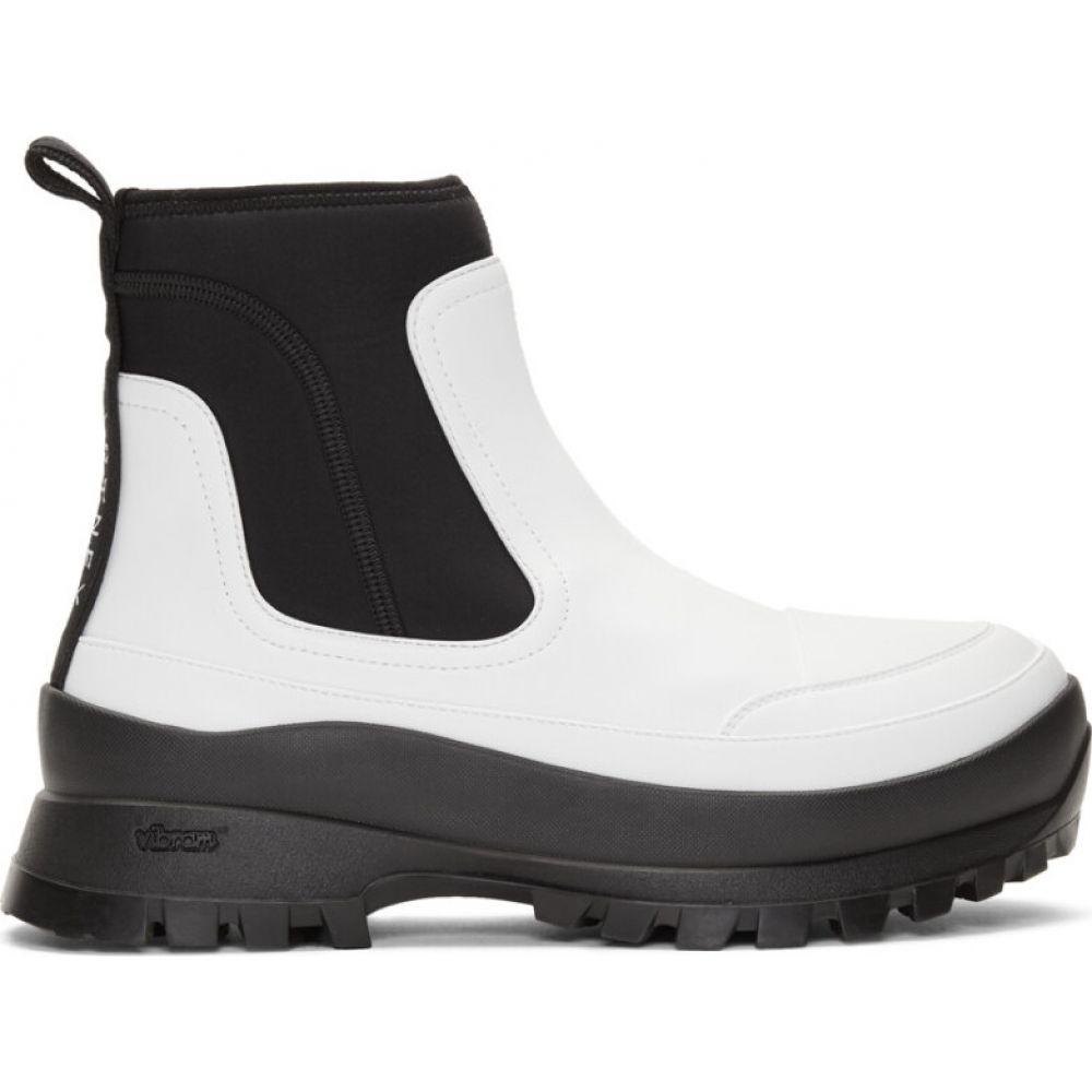 ステラ マッカートニー Stella McCartney レディース ブーツ シューズ・靴【White Utility Boots】White/Black