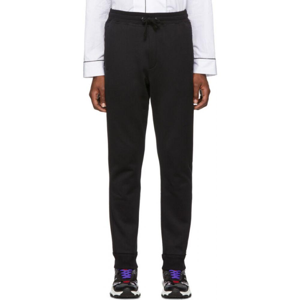 ヴァレンティノ Valentino メンズ スウェット・ジャージ ボトムス・パンツ【Black Rockstud Untitled Lounge Pants】Black