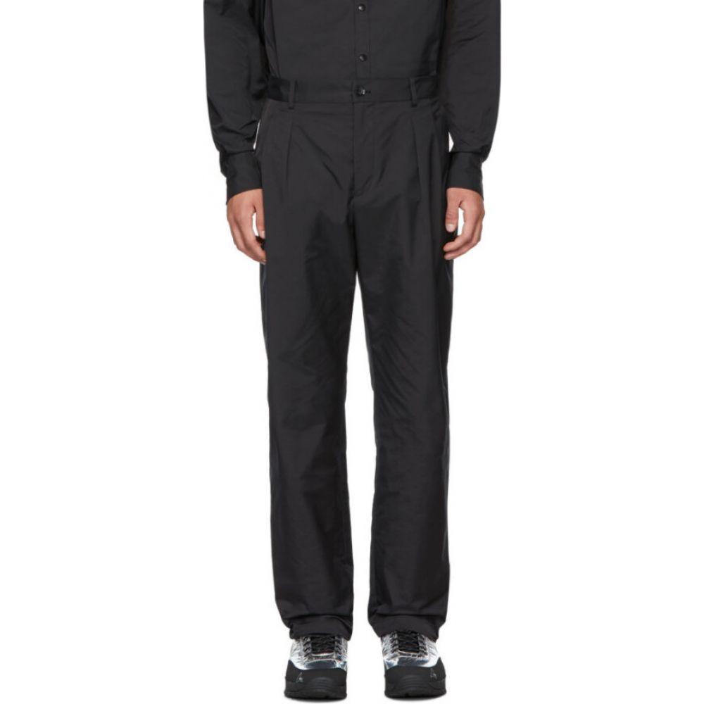 ヴァレンティノ Valentino メンズ スラックス ボトムス・パンツ【Black Virgin Wool Trousers】Black