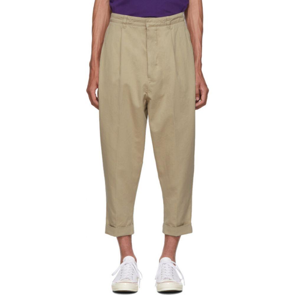 アミアレクサンドルマテュッシ AMI Alexandre Mattiussi メンズ ボトムス・パンツ 【Beige Oversized Carrot Trousers】Beige