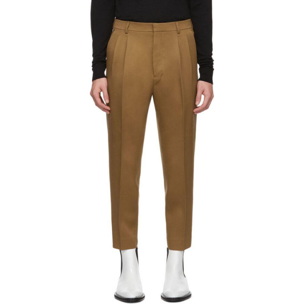 アミアレクサンドルマテュッシ AMI Alexandre Mattiussi メンズ ボトムス・パンツ 【Tan High-Waisted Trousers】Tan