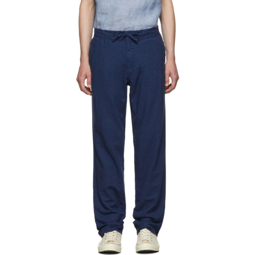 オニア Onia メンズ ボトムス・パンツ 【Blue Linen Collin Trousers】English blue