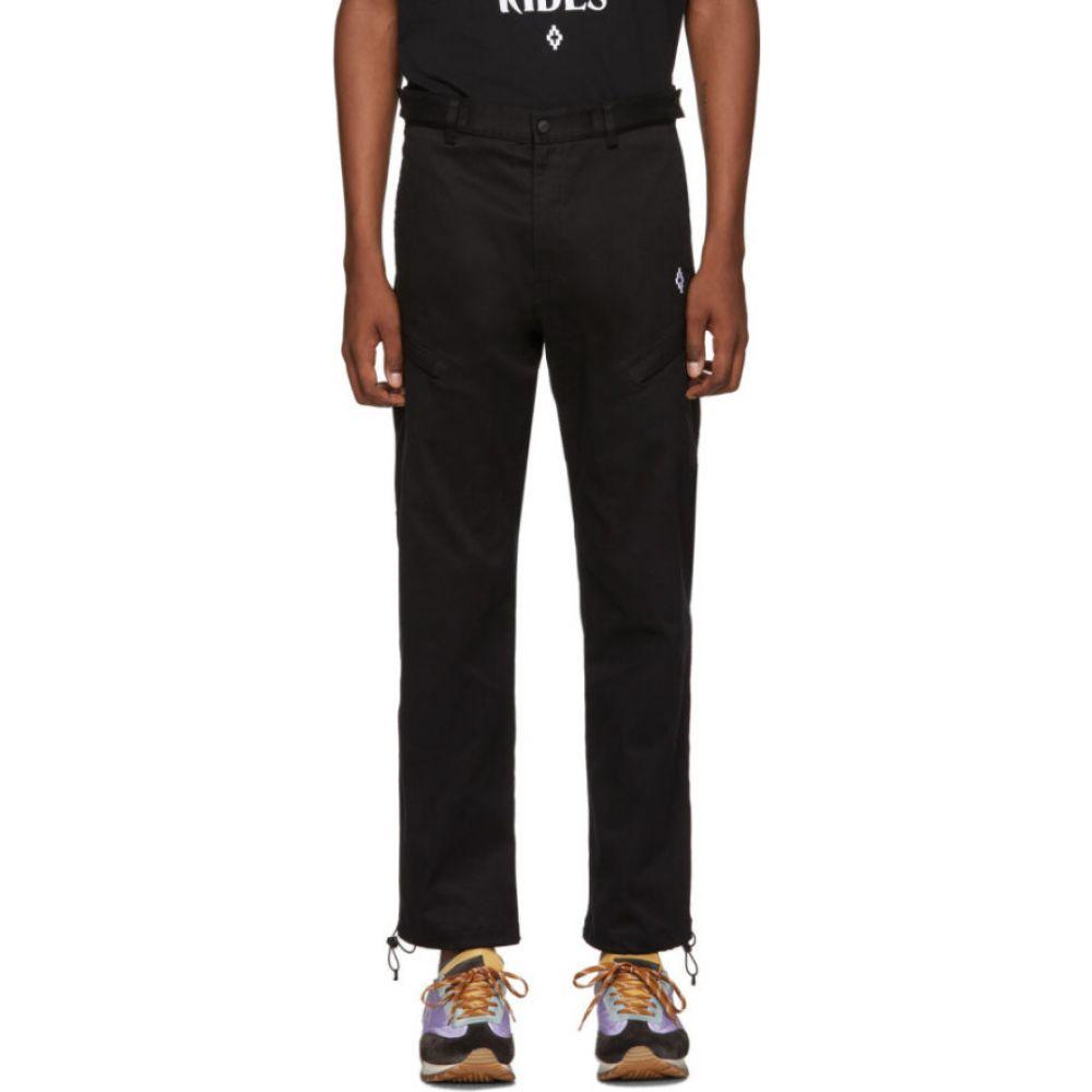 マルセロバーロン Marcelo Burlon County of Milan メンズ ボトムス・パンツBlack Cross Trousers Black WhitetsQrCxhd