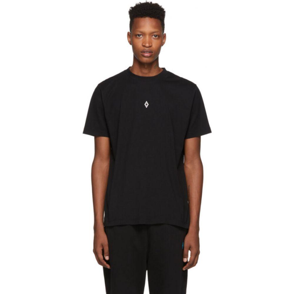 マルセロバーロン Marcelo Burlon County of Milan メンズ Tシャツ トップス【Black Heart Wings T-Shirt】Black white