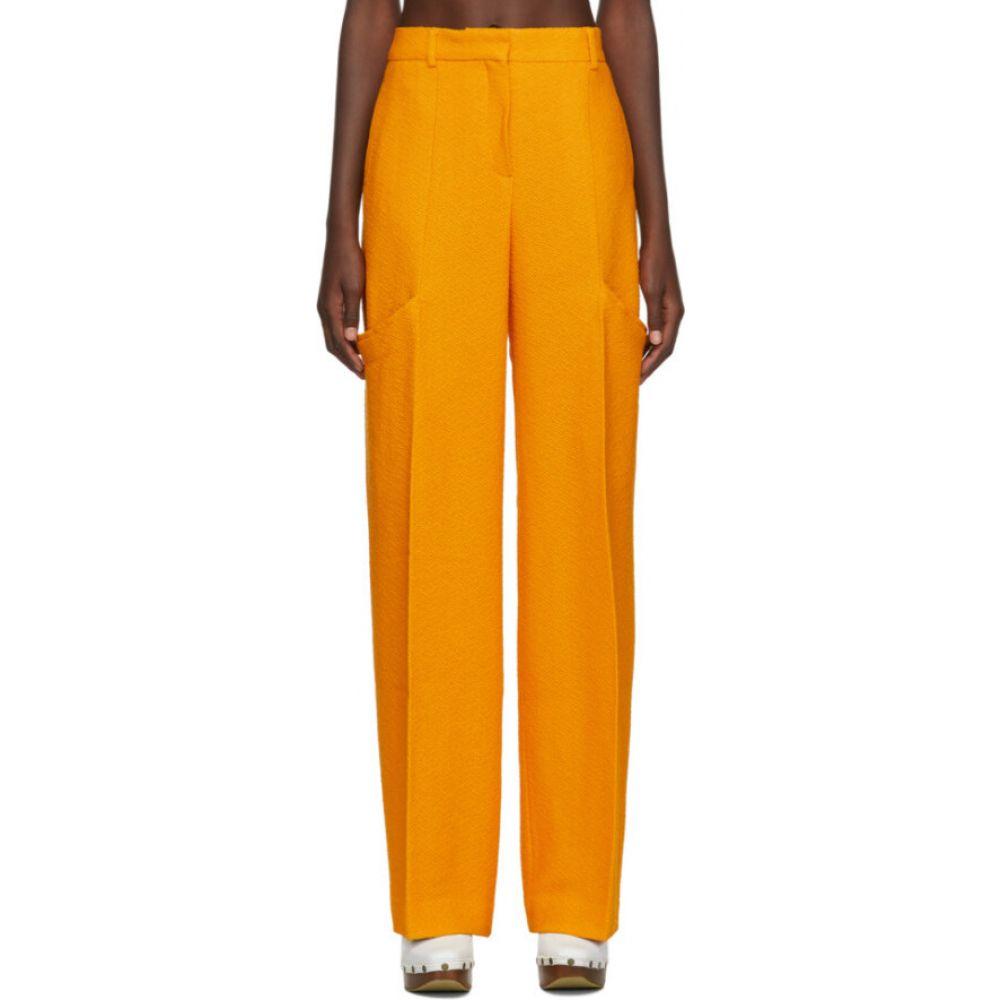 ジャックムス Jacquemus レディース ボトムス・パンツ 【Yellow 'Le Pantalon Moyo' Trousers】Orange