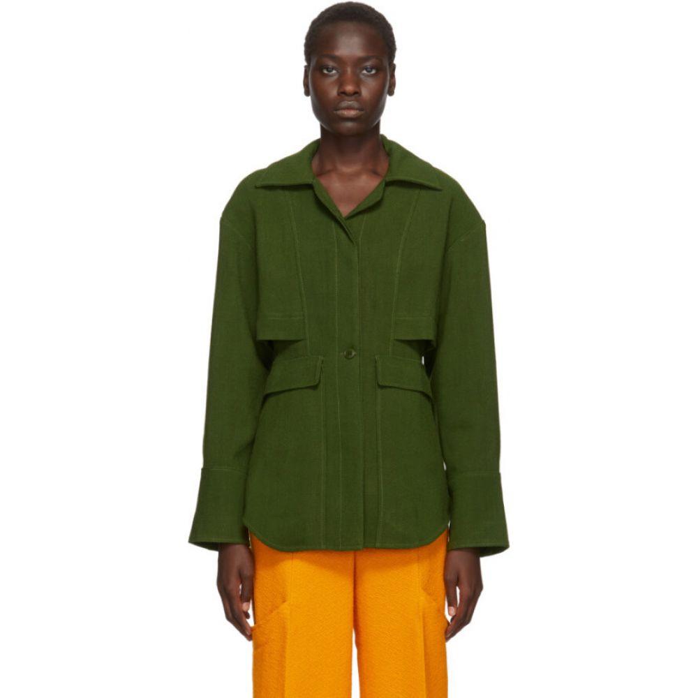 ジャックムス Jacquemus レディース ブラウス・シャツ トップス【Green 'La Chemise Monceau' Shirt】Green