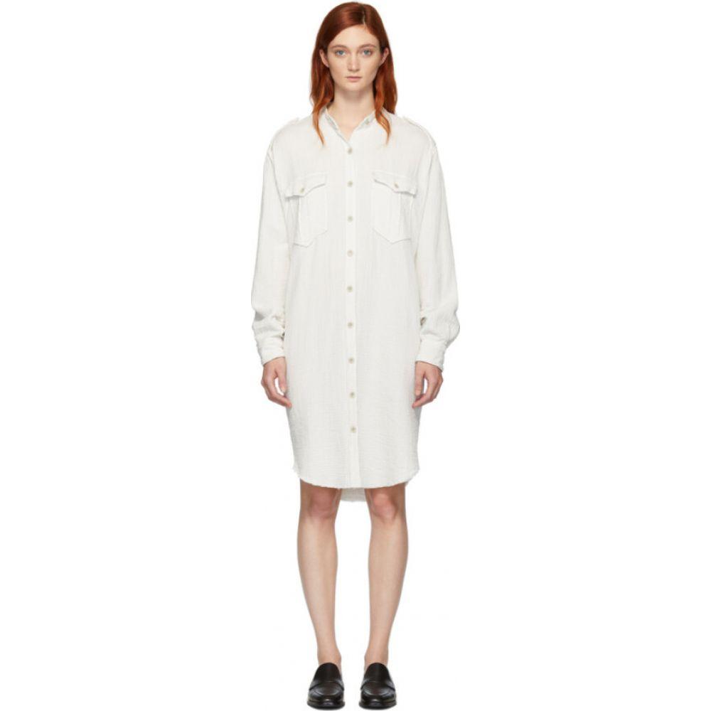 イザベル マラン Isabel Marant Etoile レディース ワンピース ワンピース・ドレス【White Jasia Dress】Chalk