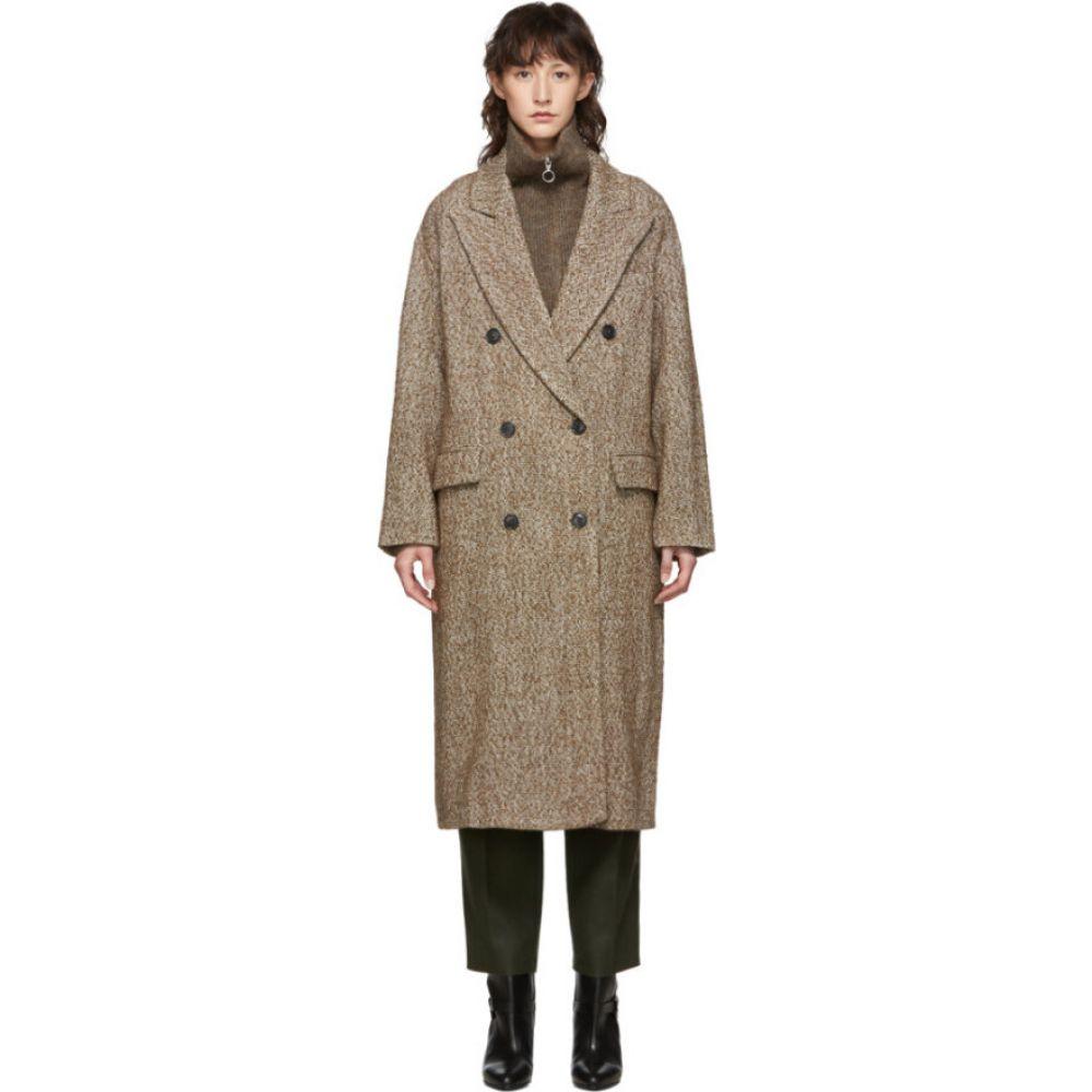 イザベル マラン Isabel Marant Etoile レディース コート アウター【Brown Habra Coat】Chestnut