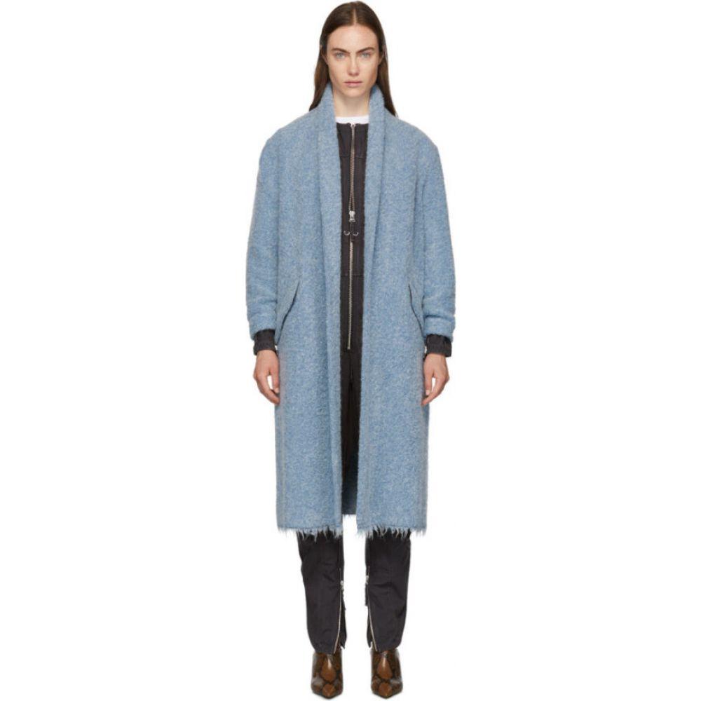 イザベル マラン Isabel Marant Etoile レディース コート アウター【Blue Boucle Faby Coat】Blue