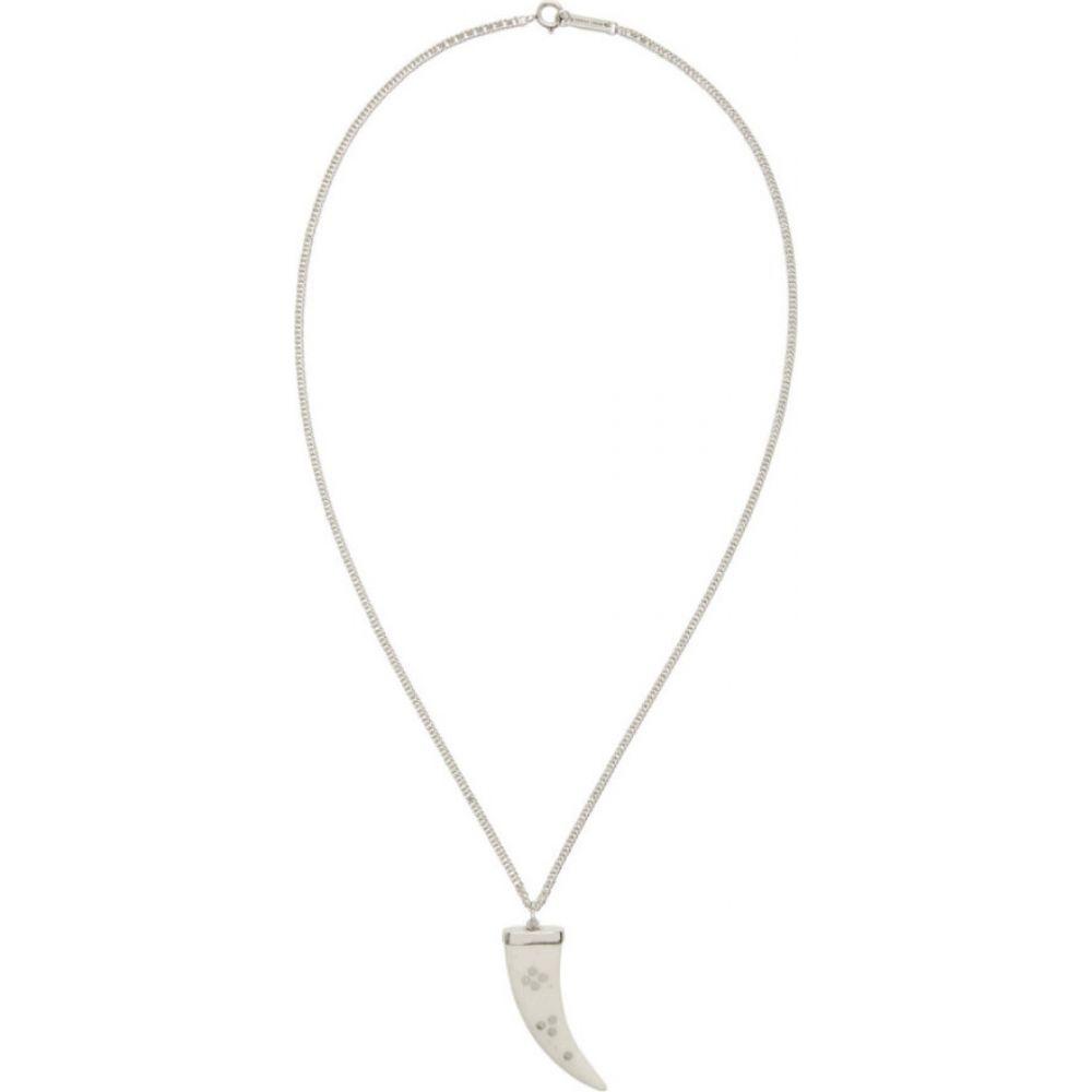 イザベル マラン Isabel Marant レディース ネックレス ジュエリー・アクセサリー【White & Silver Horn Necklace】Ecru/Silver